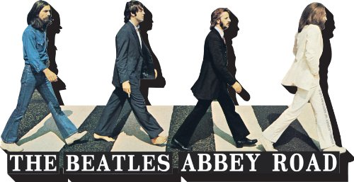 Aquarius Beatles Abbey Road Chunky Magnet