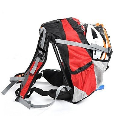 WEST BIKING® Mountain Biking Backpack Riding Bicycle Riding Equipment Package To Send Rain Cover 20L Cycling Bag(Red)