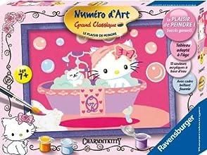 Ravensburger - 281978 - Loisir Créatif - Numéro d'art Moyen Format Collection Spéciale - Charmmy Kitty dans Son Bain Age 7+