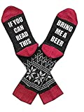 If You Can Read This Bring Me A Glass Of Wine Fatherrs Day Gift For Men Women Drinking Games Funny Wine Socks