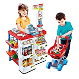 Sunshine Home Supermarket Play Set For Kids - Educational And Interactive Toy, Battery Operated