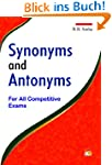 Synonyms and Antonyms (English Edition)