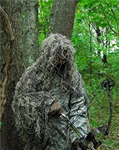 GhillieSuits Synthetic Ultra-Light Ghillie Bow Hunting Jacket Right Hand Mossy 2XL