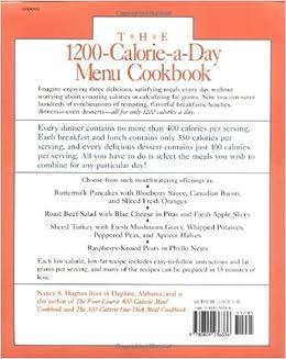 1200 calorie low fat diet menu