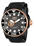 INVICTA INVICTA Pro Diver - 14686 - Men - Japanese Automatic Movement - Black Dial - Black Polyurethane Strap men's automatic Watch with black Dial analogue Display and black PU Strap 14686