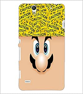 PrintDhaba Cartoon D-4238 Back Case Cover for SONY XPERIA C4 (Multi-Coloured)