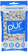 PUR Gum Aspartame Free, Peppermint, 2…