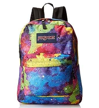 Amazon.com: Jansport Black Label Rainbow Galaxy Spray Can ...