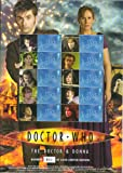 David Tennant Doctor Who and Donna Royal Mail Smiler sheet of 10 stamps