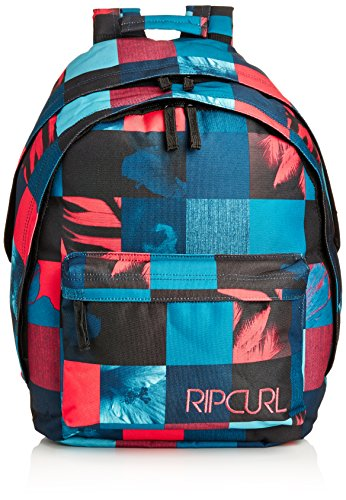 Rip Curl - Folda Double Dome, Zaino Con Comparto Per Pc da Donna, Nero(Solid Black), taglia unica