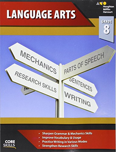 Core Skills Language Arts Workbook Grade 8 (Steck-Vaughn Core Skills Language Arts)