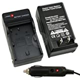 Eforcity Bp-511 Battery Charger For Canon Eos 5D 10D 20D + Car