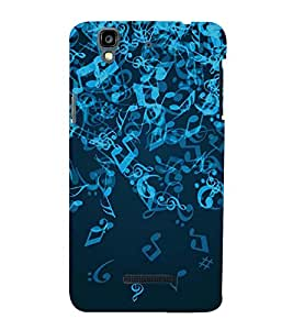 Music Back Case Cover for YU Yureka Plus::Micromax Yureka Plus YU5510A