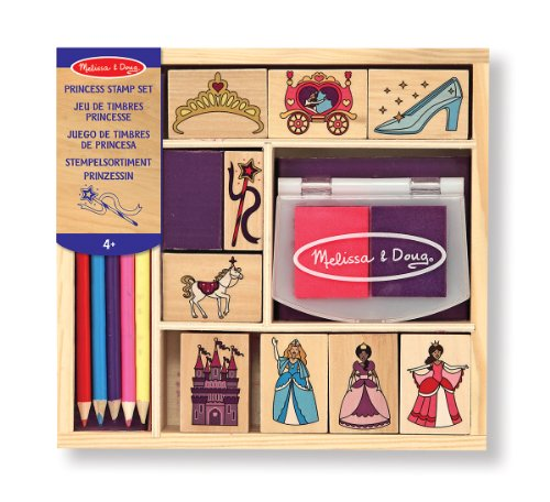 melissa-doug-wooden-princess-stamp-set-9-stamps-8-colored-pencils-and-2-color-stamp-pad