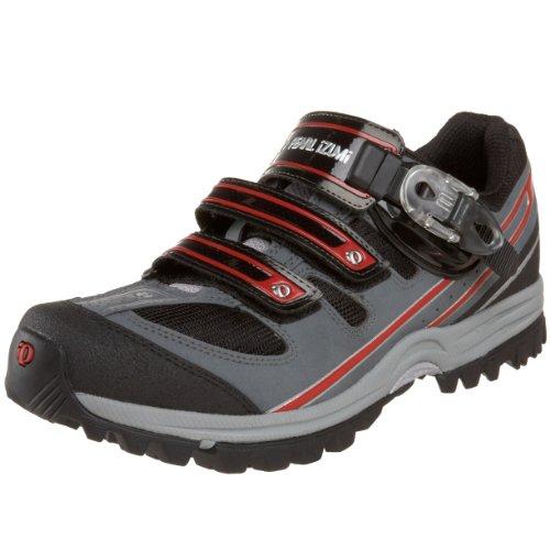 Pearl iZUMi Men's X-Alp Enduro II Cycling Shoe,Black/Shadow Grey,44 M EU