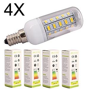 4X ELINKUME G9 7W Warm White 36LED SMD 5730 Corn Spot Lights Lamp,AC 200-240V from ELINKUME