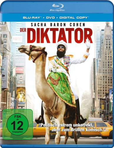 Der Diktator (+ DVD + Digital Copy) [Blu-ray]