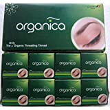 IndianStore4All Organica Eyebrow Thread Box of 8 Spools