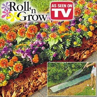 Roll n Grow Miracle Garden Flower Mat (Mail Order Packaging)
