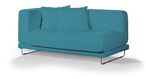 Dekoria Fire Retardant IKEA tylösand Housse de Canapé 2Places–Turquoise/Bleu Sarcelle