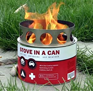 Stove In A Can: 12 Stove Value Pack - Emergency Preparedness and Survival Camp Stove... by Stove In A Can