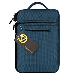 VanGoddyTM VG Hydei Blue Nylon Bag Carrying Case for RCA 7 Mercury RCT6672W23 / RCT6077W22 / RCT6077W2 / RCT6272W23 / RCT6378W2 7