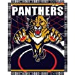 "Florida Panthers NHL Triple Woven Jacquard Throw (019 Series) (48x60"")"""