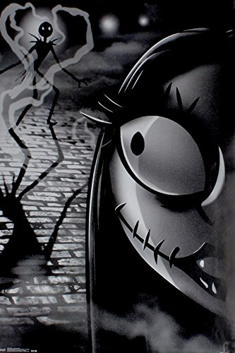 poster - Nightmare Before Christmas - Jack e Sally Wall Art 55,9 x 86,4 cm rp13894