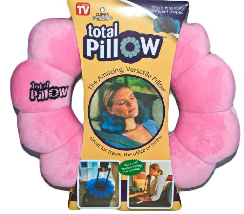 Pink Total Twist Travel Pillow