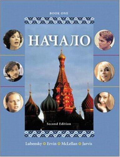 Nachalo, Book 1 (Book & Audio CD)