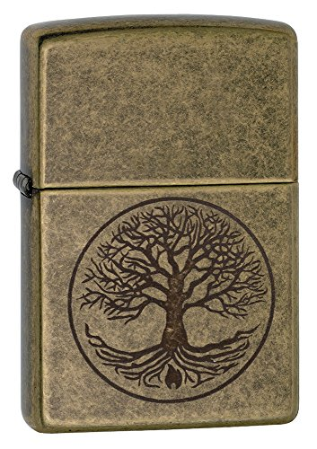 zippo-tree-of-life-regular-lighter-antique-brass