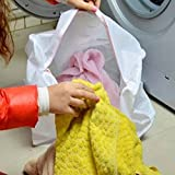 Cylindrical Meshy Towel Washing Bag Sheet Pants Cleaning Bag
