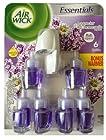Air Wick Refills Oil Scented Lavender & Chamomile 6 Refills Bonus Warmer .71 FL.oz. Each