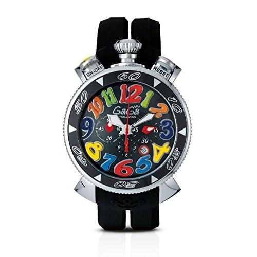 GAGA MILANO 6050.2 CHRONO 48MMガガミラノ 腕時計 シリコンラバー【並行輸入品】