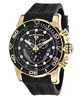 Swiss Legend Men's 21368-YG-01 Avalanche Analog Display Swiss Quartz Black Watch from Swiss Legend