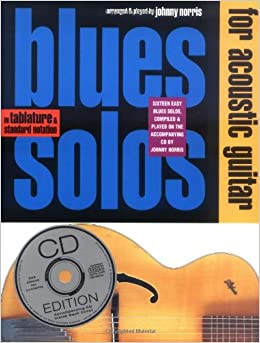Blues Solos for Acoustic Guitar  Guitar Books  available at Amazon for Rs.707