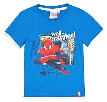 Marvel Spider-Man (1173) Kinder T-Shirt, blau, Gr. 98