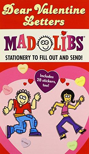 Dear Valentine Letters Mad Libs (Mad Libs Junior)