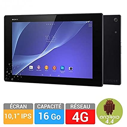 Sony tablette xperia z2 16go 10,1 4g noir