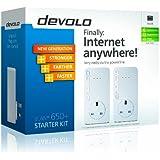 Devolo dLAN 650 Plus Starter Kit - White