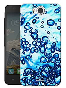 """Aqua Water Bubbles Printed Designer Mobile Back Cover For """"Google Infocus M530"""" By Humor Gang (3D, Matte Finish, Premium Quality, Protective Snap On Slim Hard Phone Case, Multi Color)"""