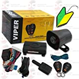 Viper 3105V 1-way Car Alarm Security System with Keyless Entry