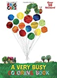 A Very Busy Coloring Book (The World of Eric Carle) (Jumbo Coloring Book)