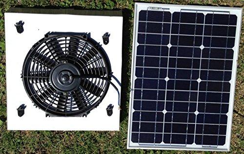 50 Watt Solar Attic Fan