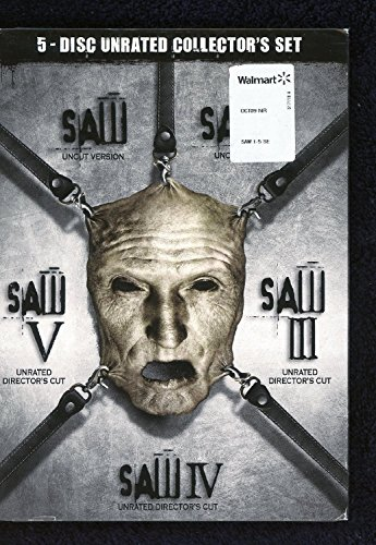 SAW Complete Horror Collection DVD BOX 1.2.3.4.5 Unrated, Uncut I-V