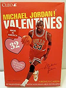 Michael Jordan Valentine's Day Cards