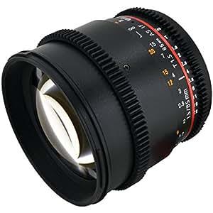 Rokinon CV85M-C 85mm t/1.5 Aspherical Lens for