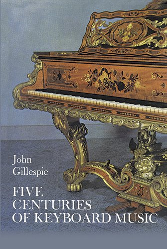 Five Centuries of Keyboard Music (Dover Books on Music)