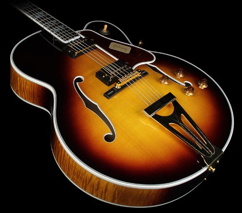 Gibson Custom Shop Hss4Vsgh1 Hollow-Body Electric Guitar, Vintage Sunburst
