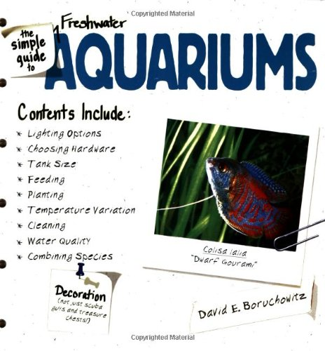 The Simple Guide to Fresh Water Aquariums (Jenson Online Inc compare prices)
